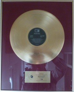 Jimmy Somerville Gold Award Bronski Beat The Age Of Concent