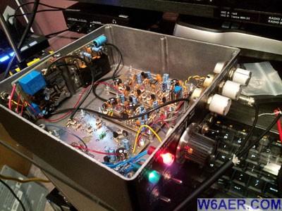 PC Electronics ATV 70cm 440 Transmitter Inside