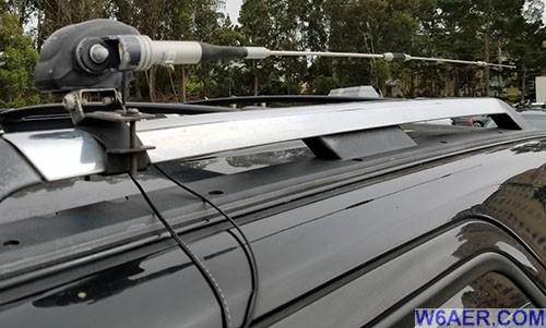 Diamond SG7500NMO Antenna w/ Diamond K9000 Antenna Motor Drive