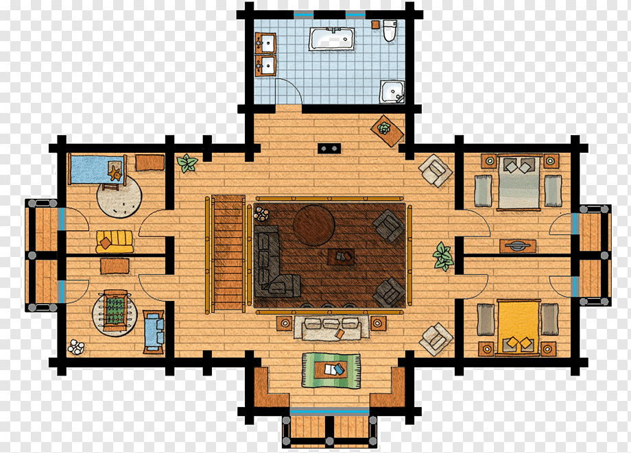 Chalet Floor Plan House Maison En Bois Storey House Angle Plan Wood Png Pngwing
