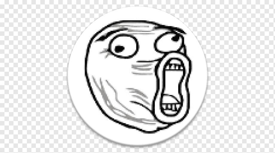Rage Comic Lol Internet Meme Trollface Lol Comics Face Poster