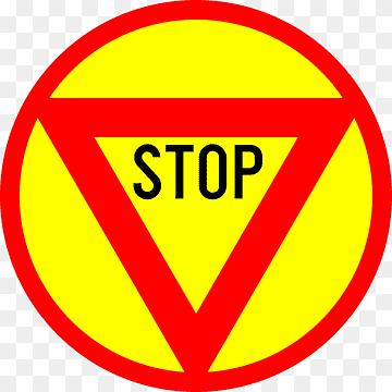 Emoji Stop Sign Hitam Dan Putih Stop Sign Template Printable Teks Tanda Peringatan Logo Png Pngwing