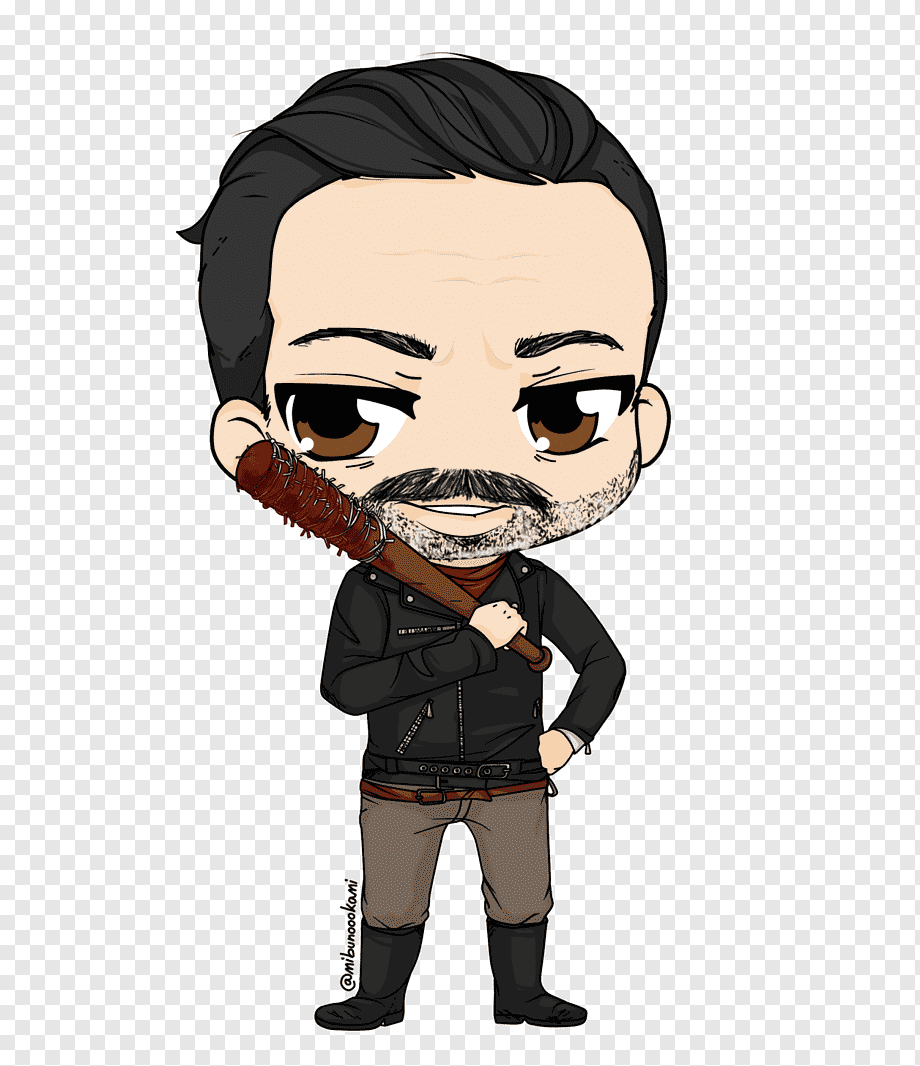 Negan Rick Grimes Abraham Ford Daryl Dixon The Walking Dead The Walking Dead Chibi Fictional Character Cartoon Png Pngwing