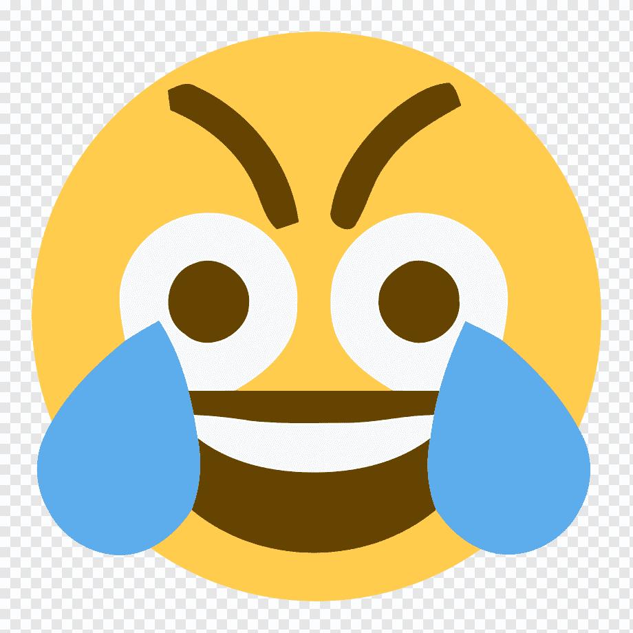 Cringe Sticker Crying Laughing Emoji Meme Transparent Hd Png