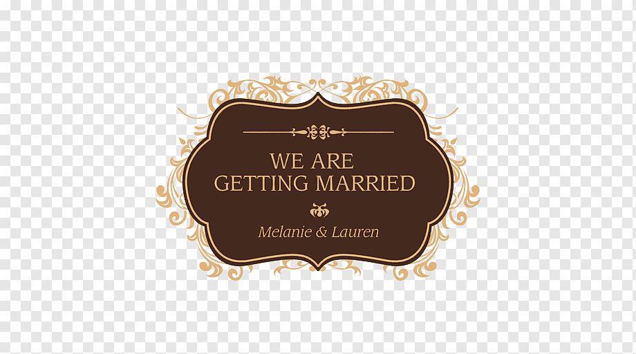 brown invitation card wedding