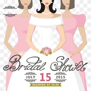 wedding invitation bride bridal shower