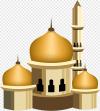 Masjid Istanbul Islam Bahan Siluet Masjid Islam Poster