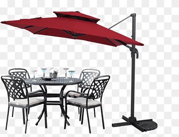 gray patio table