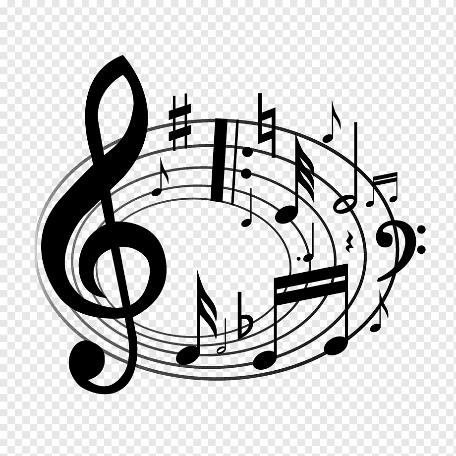 Rotating Music Notation Music Note Symbol Png Pngwing