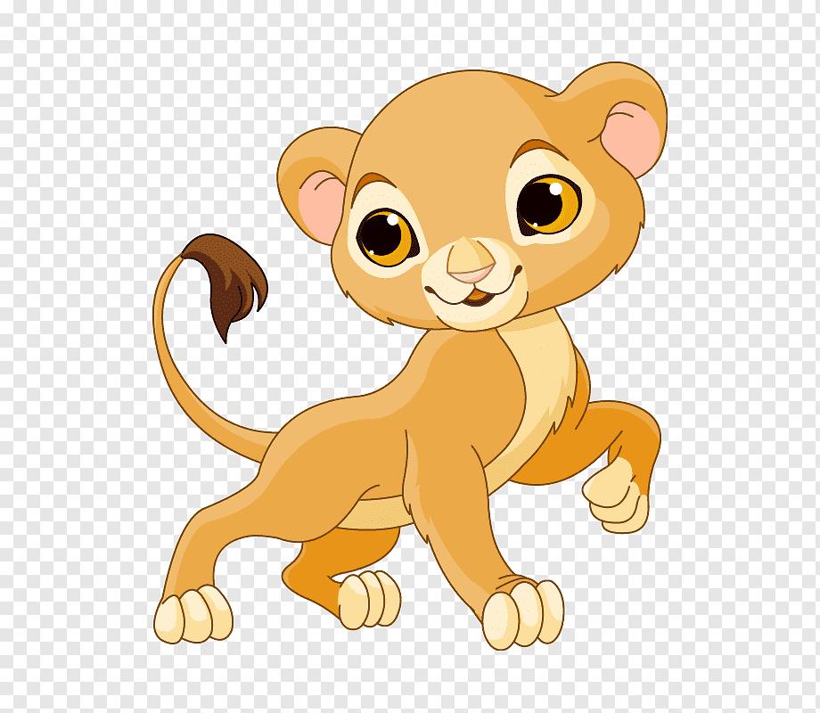 Lion Sarabi Cartoon Cartoon Lioness Mammal Cat Like Mammal Carnivoran Png Pngwing
