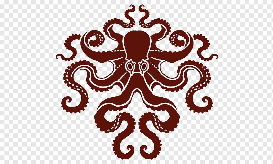 octopus mosaic oceanographic museum art