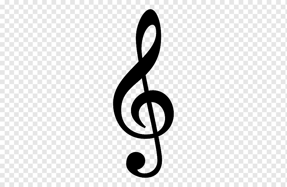 G Clef Musical Note Treble Musical Note Text Logo Symbol Png Pngwing
