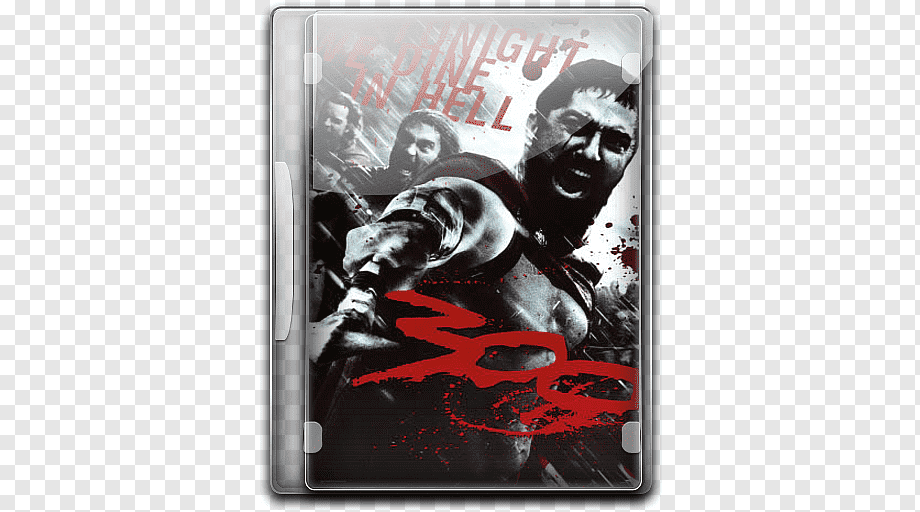 300 movie poster fictional character