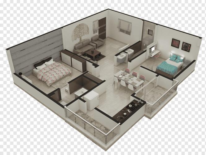 Floor Plan Apartment House
