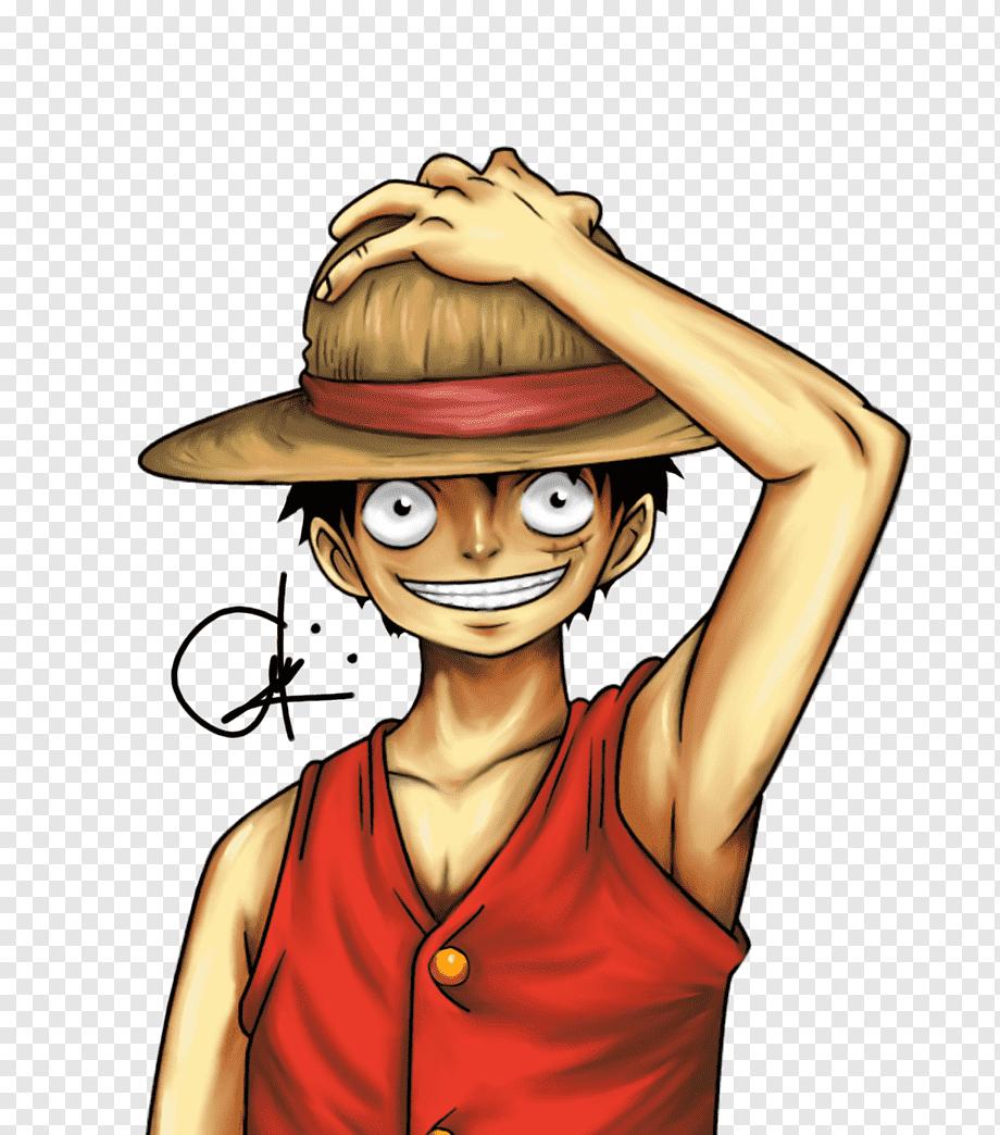 Affe D Digitale Malerei Des Luffy Kunstlachelns Luffy Arm