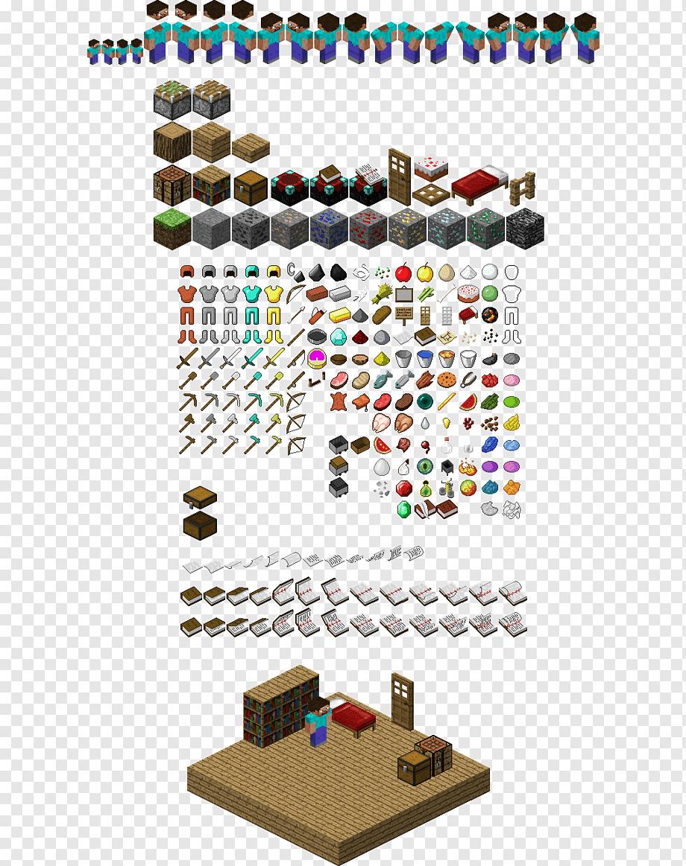 Mod Minecraft Sprite Grafik Isometrik Dalam Video Game Dan Pixel Art Video Game Berbasis Tile Rock Block Grafik Komputer 3d Gim Video Mojang Png Pngwing