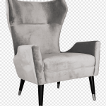 Club Chair Ohrensessel Moderne Stuhle Wohnzimmer Stuhl Winkel Anthrazit Armlehne Png Pngwing