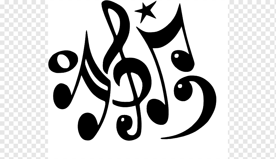 Musical Note Free Content Drawings Of Music Notes Text Logo Monochrome Png Pngwing