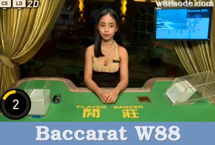 baccarat-w88