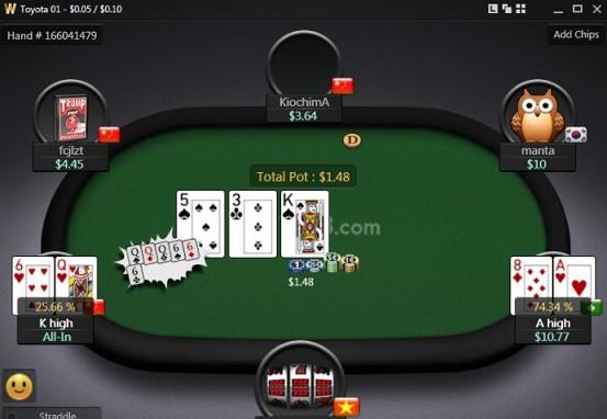 Hướng dẫn cách chơi bài Poker tại W88 2