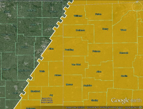 Convective outlook map