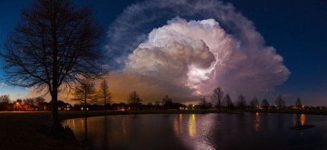 Supercell photo by professional photographer James Langford