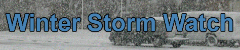 Winter storm watch banner