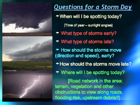 A slide from a presentation SPC lead forecaster Roger Edwards provided during the 2016 DuPage County Advanced Severe Weather Seminar