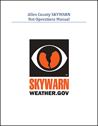 Allen County, Indiana SKYWARN net operations manual cover thumbnail