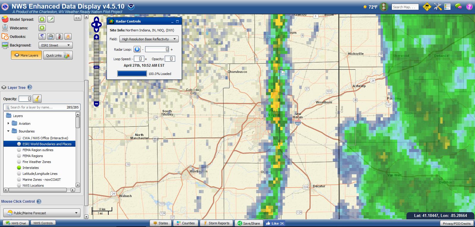 National Weather Service | W9LW's Ramblings