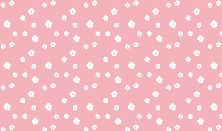花柄の包装紙