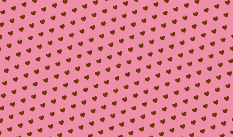 愛をこめて。ハート柄の包装紙