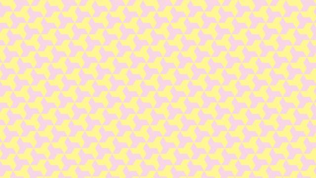 春らしい色使い!六つ手卍柄の包装紙
