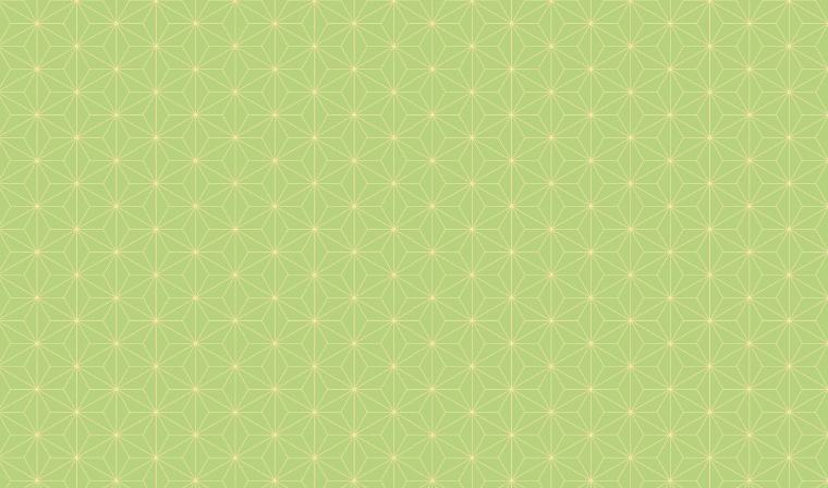 麻の葉柄のシンプルな包装紙
