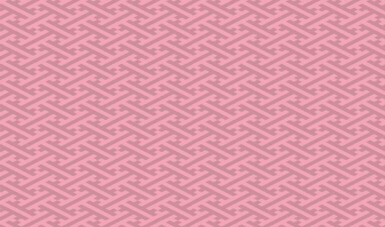 紗綾形柄の女性らしさあふれる包装紙