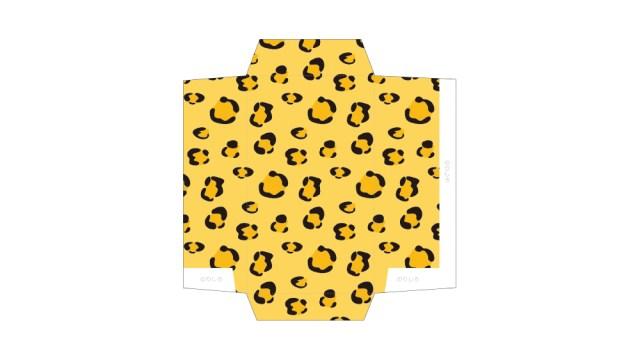 アニマルパターン!ヒョウ柄の包装紙