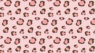 アニマルパターン!ヒョウ柄の包装紙 ピンクバージョン