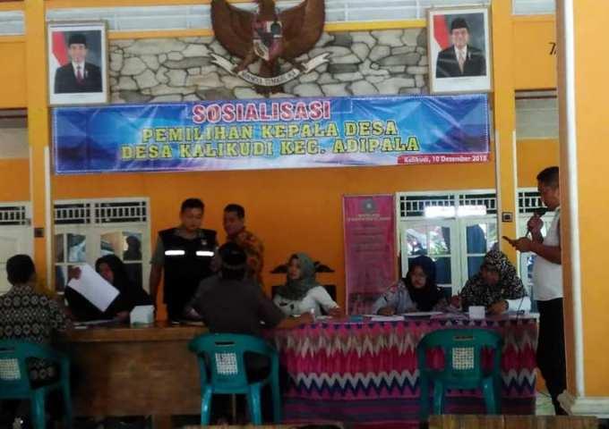 Pendaftaran Pilihan Kepala Desa Kalikudi Ditutup