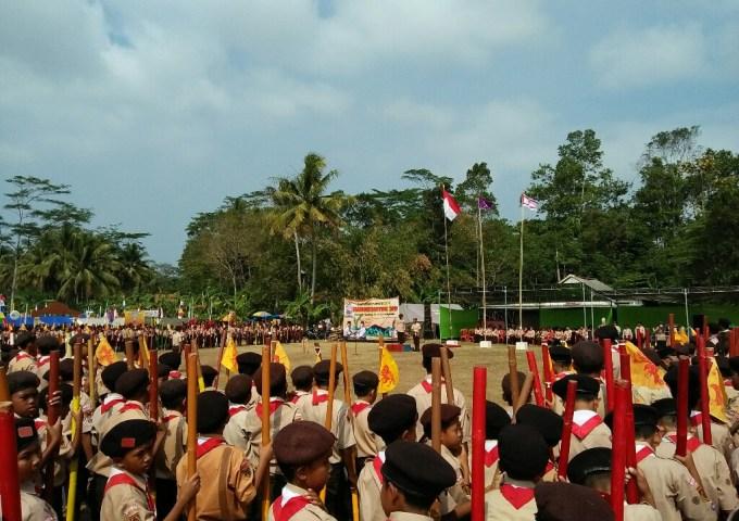 Jambore Ranting Tahun 2019 di Kecamatan Adipala