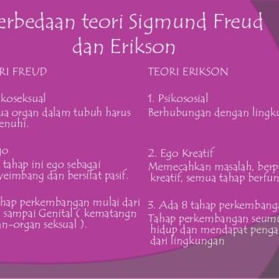 Teori Psikoanalistis Freud dan Erikson