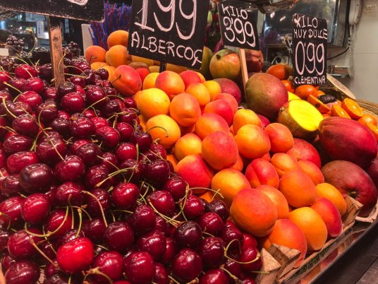 Boqueria Market Waar is Aimy