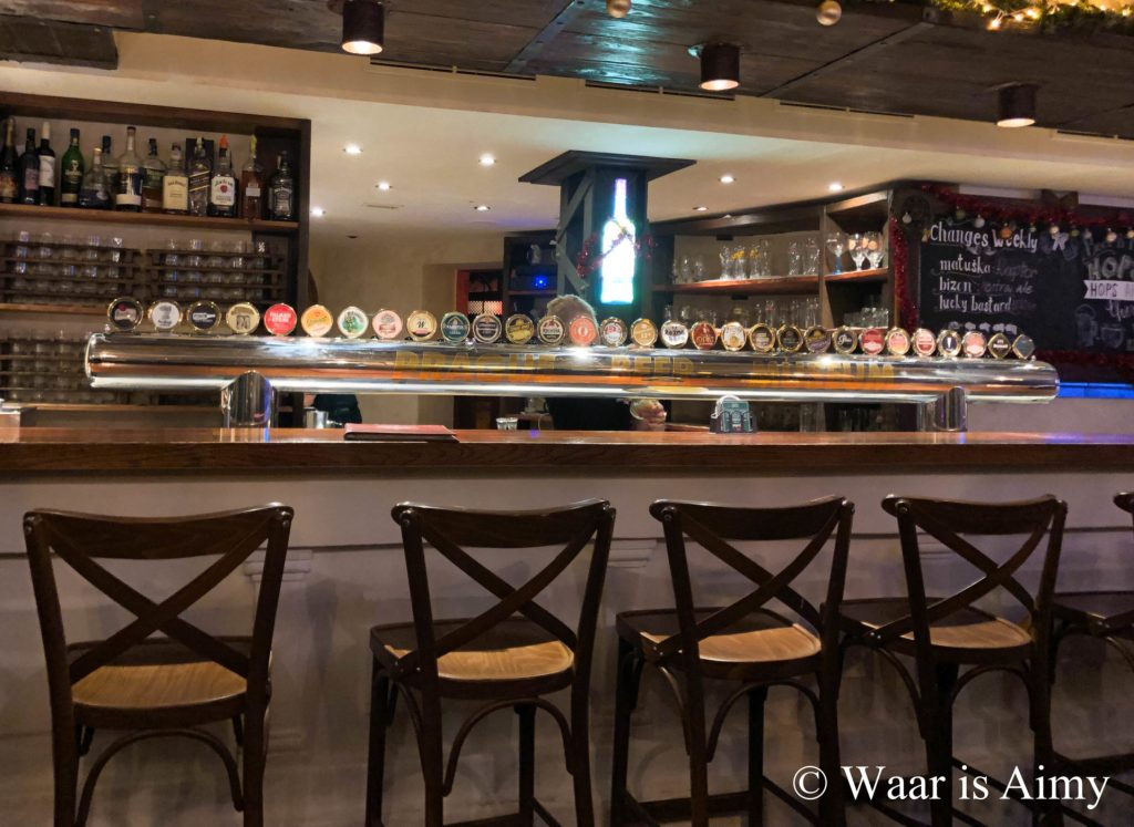 Prague Beer Museum - Waar is Aimy
