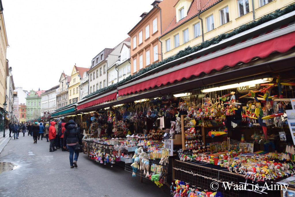 Winter in Praag - Waar is Aimy