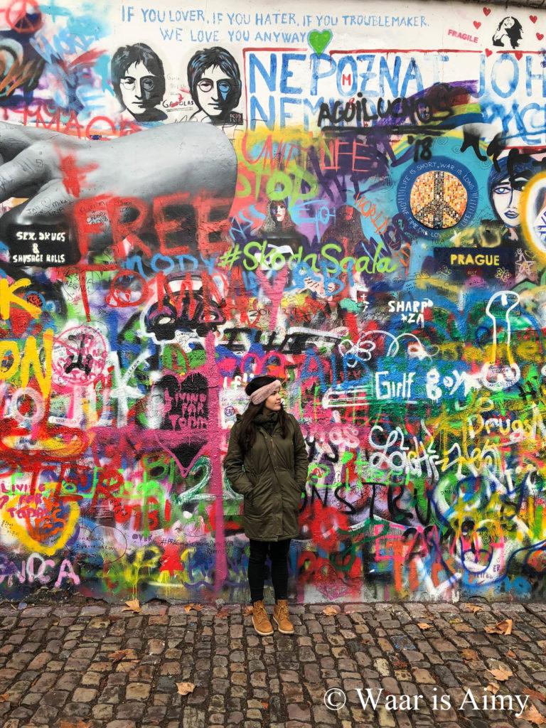 John Lennon Wall - Waar is Aimy