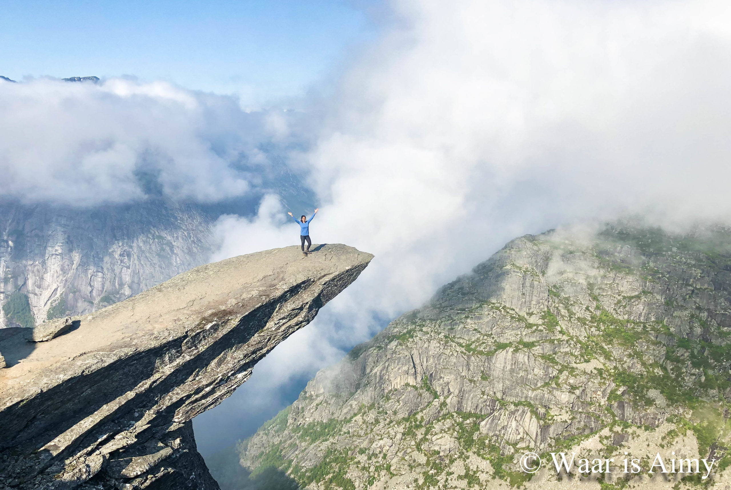 Trolltunga - Waar is Aimy