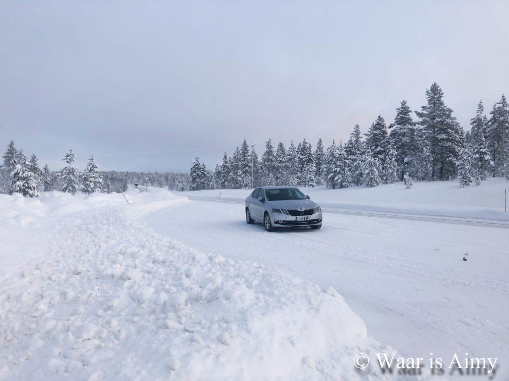Autorijden in Lapland