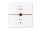 A Beautiful Story – Armband – Edelsteen kaart Red Garnet Goud