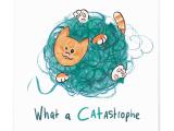 MAGS Ansichtkaarten – What a Catastrophe (13,5 x 13,5cm)