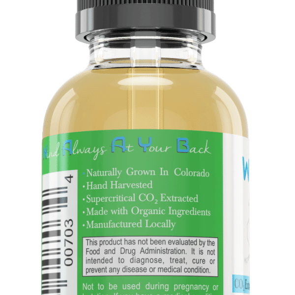 All Natural Flavorless Hemp Extract Oil by WAAYB Organics