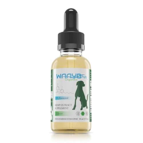 WAAYB Organics Pet 300mg_Front